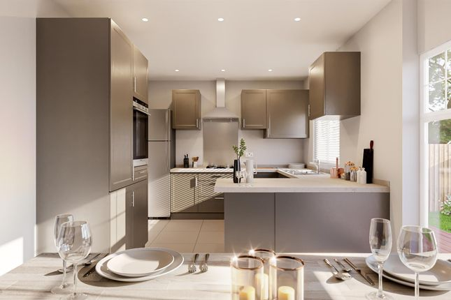 Thumbnail Detached house for sale in The Foxham, Plot 14, Rowden Brook
