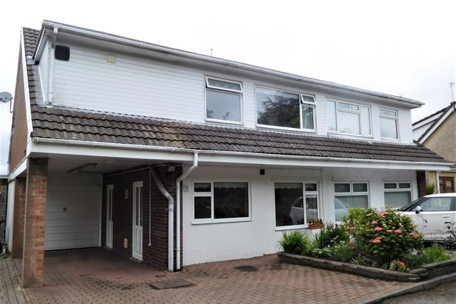 Thumbnail Semi-detached house for sale in The Boot, Maesycwmmr, Ystrad Mynach, Caerphilly, Cf83