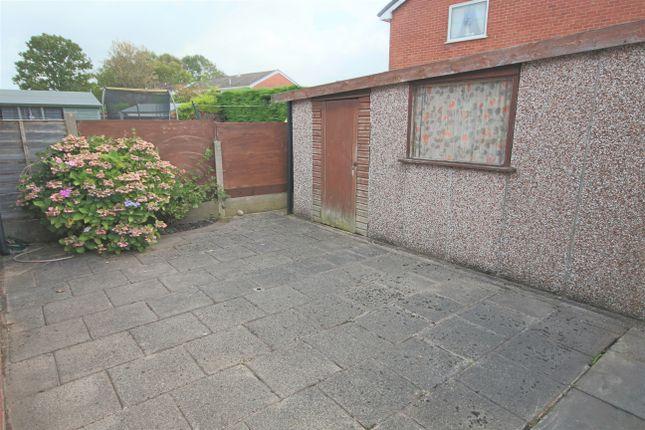 Rear Garden of Whitefield Road, Penwortham, Preston PR1