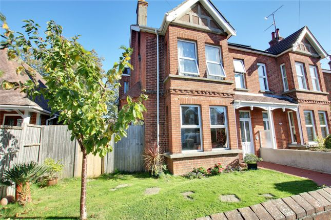 Thumbnail Semi-detached house for sale in Woodlea Road, Tarring, Worthing, West Sussex