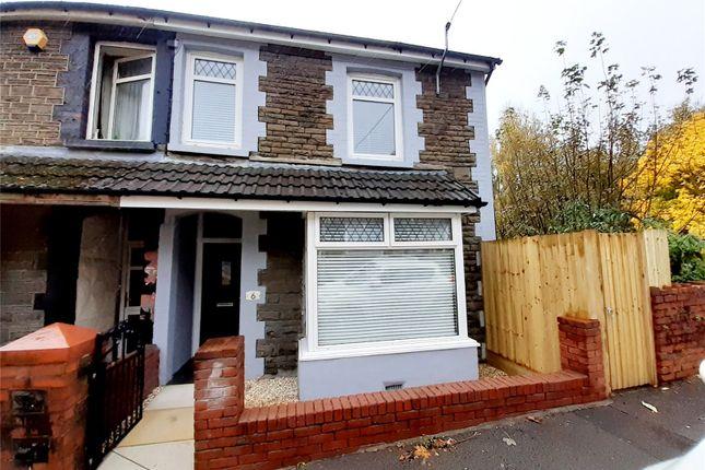 Thumbnail End terrace house for sale in Brynmair Road, Aberdare, Rhondda Cynon Taff
