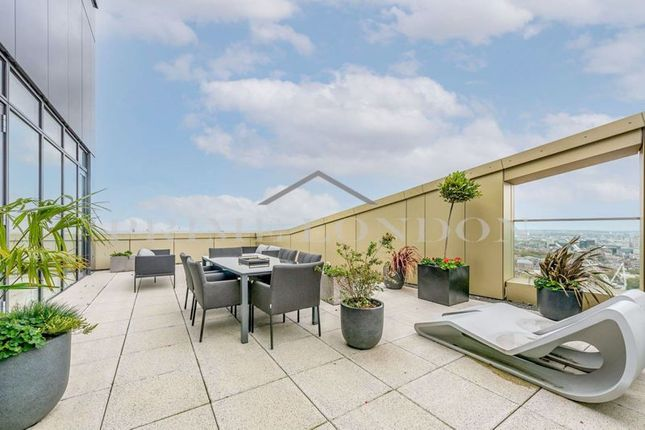 Thumbnail Flat for sale in Wilberforce Penthouse, Gladwin Tower, Nine Elms Point