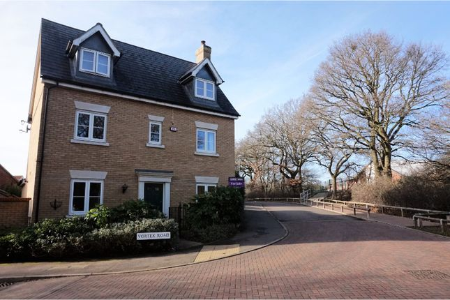 Thumbnail Detached house for sale in Vortex Road, Colchester