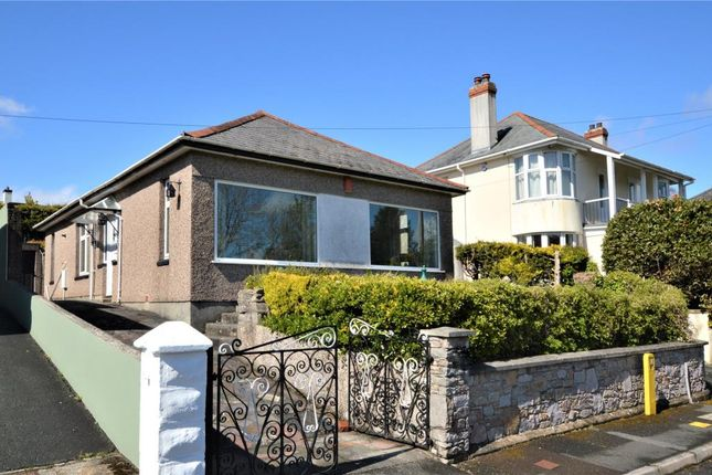 Thumbnail Detached bungalow for sale in Meadow View Road, Plymouth, Devon