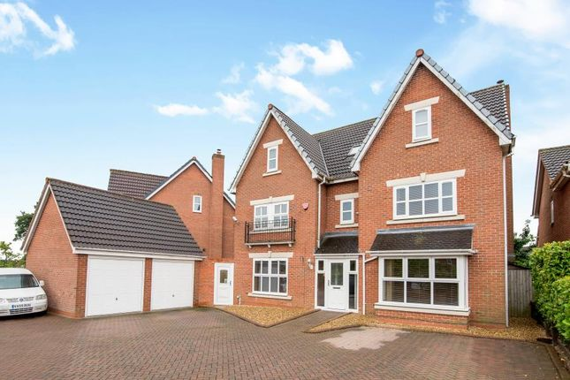 Thumbnail Detached house for sale in Harvest Fields Way, Sutton Coldfield
