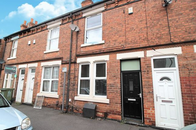 Thumbnail Terraced house to rent in Warwick Street, Nottingham