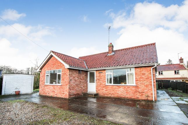 Thumbnail Detached bungalow for sale in Norwich Road, Booton, Norwich