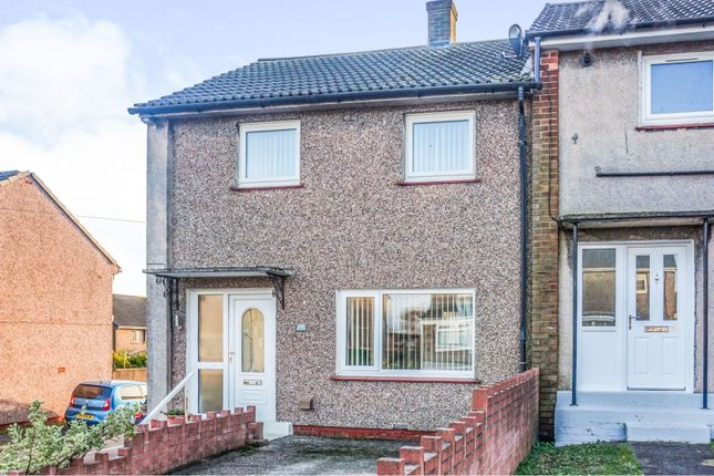 End terrace house for sale in Ullswater Avenue, Whitehaven