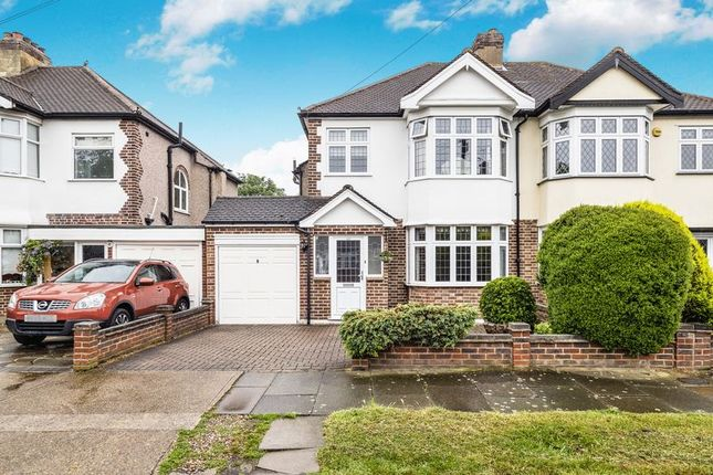 Thumbnail Semi-detached house for sale in Dee Way, Rise Park, Romford