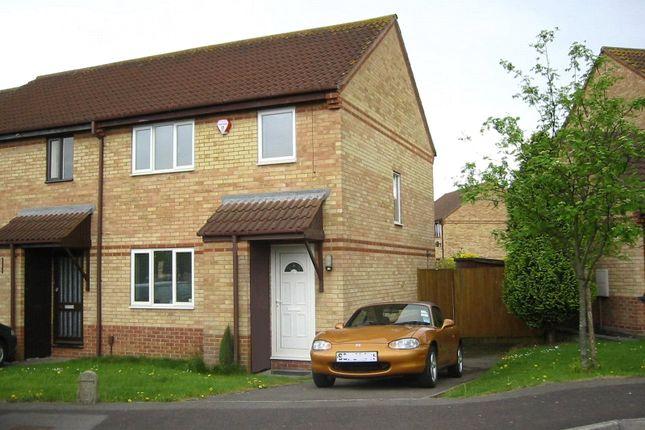Thumbnail End terrace house to rent in Pye Croft, Bradley Stoke, Bristol