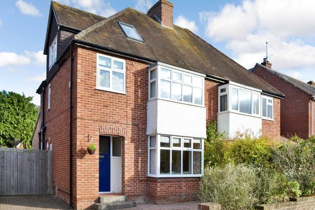 Thumbnail Semi-detached house to rent in Paddock Road, Newbury