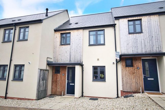 Thumbnail Terraced house to rent in Perreyman Square, Tiverton