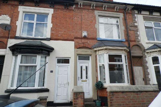 Thumbnail Terraced house to rent in Bassett Street, Wigston