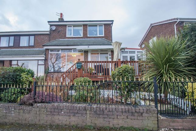 Thumbnail Semi-detached house for sale in Redesdale Avenue, Blaydon-On-Tyne