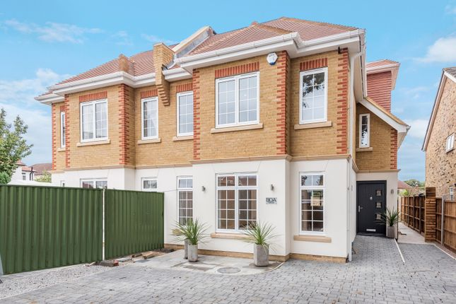 Thumbnail Semi-detached house for sale in Queens Road, Hersham, Walton-On-Thames