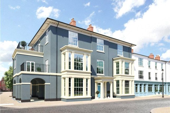 Thumbnail Flat for sale in Crown Street West, Poundbury, Dorchester, Dorset