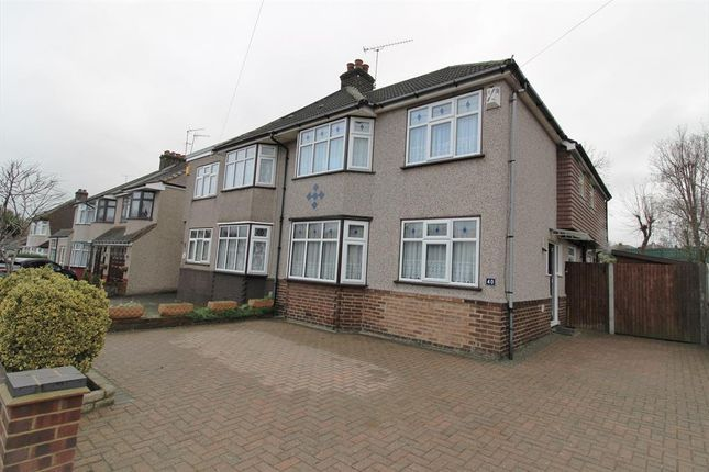Thumbnail Semi-detached house for sale in Merewood Road, Barnehurst, Kent