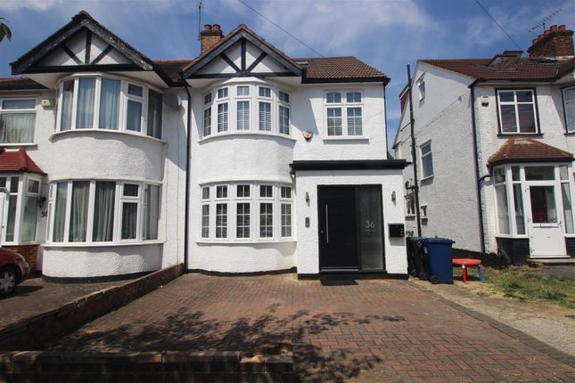 Thumbnail Semi-detached house to rent in West Way, Edgware