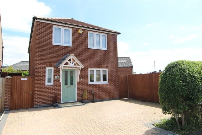 Thumbnail Detached house for sale in Feilding Way, Lutterworth