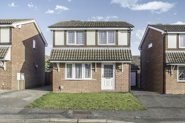 Thumbnail Detached house to rent in Osprey Close, Kempston, Bedfordshire