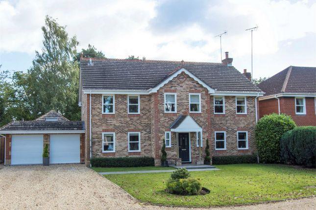 Thumbnail Detached house for sale in Attenborough Close, Fleet