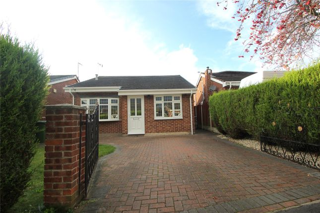 Thumbnail Detached bungalow for sale in Cheviot Close, Hemsworth, Pontefract