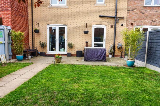 Garden of Harrow Lane, Scartho Top, Grimsby DN33