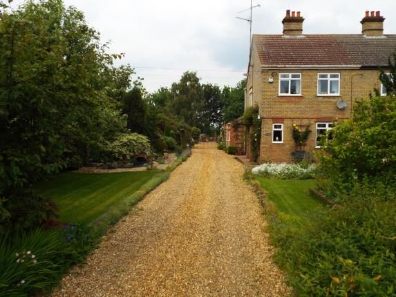 Thumbnail Semi-detached house for sale in Lakes End, Welney, Wisbech
