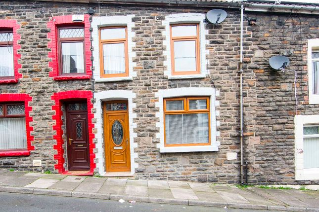 Thumbnail Terraced house for sale in Webster Street, Treharris