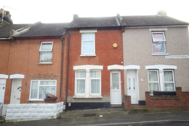 Thumbnail Terraced house to rent in Connaught Road, Chatham