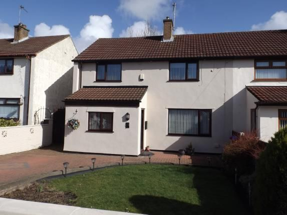 Thumbnail End terrace house for sale in Hornby Close, Liverpool, Merseyside