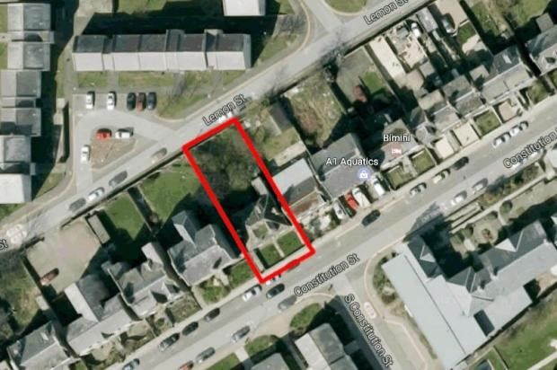 Thumbnail Land for sale in Constitution Street, Aberdeen