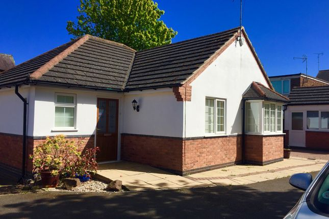 Thumbnail Detached bungalow for sale in Auburn Road, Blaby, Leicester
