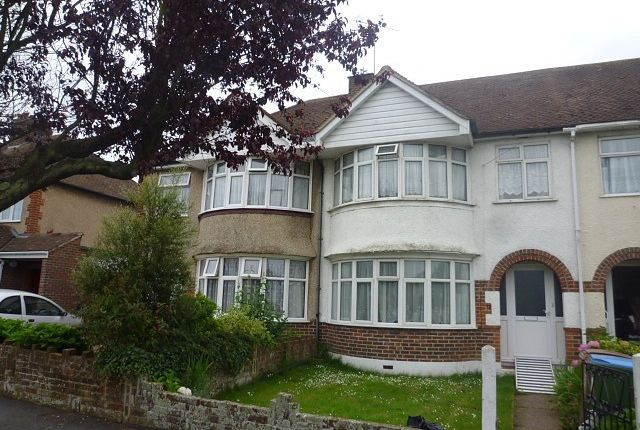 Thumbnail Terraced house to rent in Central Avenue, North Bersted, Bognor Regis