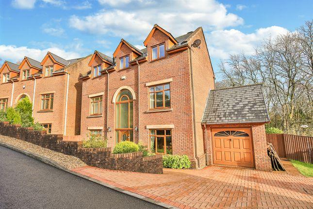Thumbnail Detached house for sale in Nant Y Coed Close, Heol-Y-Cyw, Bridgend
