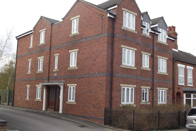 Thumbnail Flat to rent in Jerome Court, Cambridge Street, Rugby