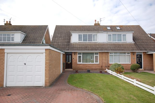Thumbnail Semi-detached bungalow for sale in Webster Avenue, Blackpool