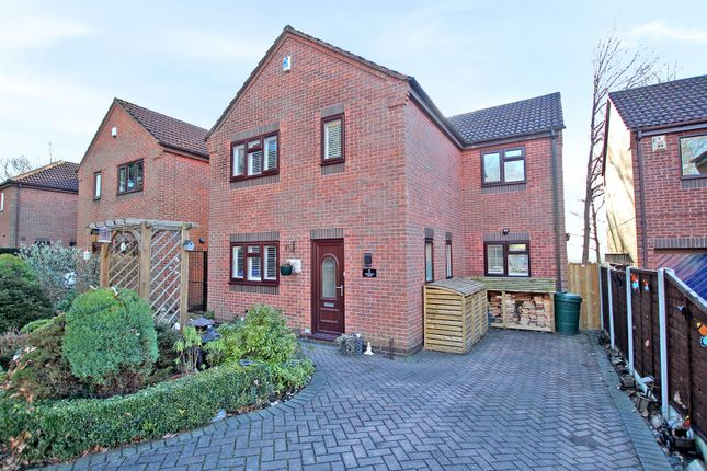 Thumbnail Detached house for sale in Church View Close, Arnold, Nottingham