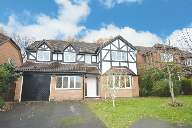 Thumbnail Detached house for sale in Besford Grove, Shirley, Solihull