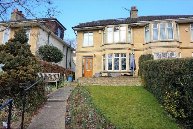 Thumbnail Semi-detached house for sale in London Road East, Batheaston