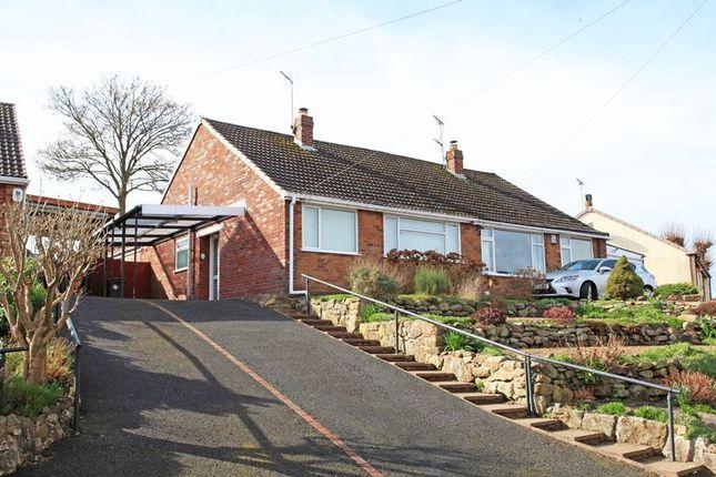 Thumbnail Semi-detached bungalow for sale in East Road, Ketley Bank, Telford