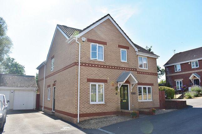 Thumbnail Detached house for sale in Fairplace Close, Broadlands, Bridgend.
