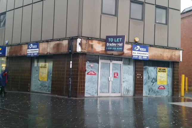 Retail premises to let in Haymarket, Newcastle Upon Tyne