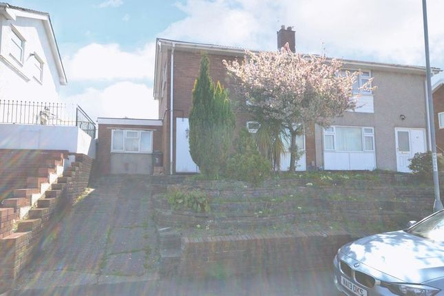 Thumbnail Semi-detached house to rent in Semi-Detached House, Aberthaw Circle, Newport