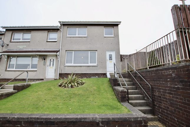 Thumbnail End terrace house for sale in Aitkenhead Road, Chapelhall, Airdrie