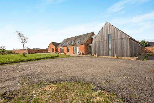 Thumbnail Barn conversion for sale in Ashbourne Road, Alkmonton, Ashbourne