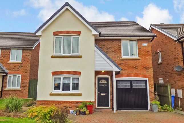 Thumbnail Detached house to rent in Trentham Gardens, Pegswood, Morpeth