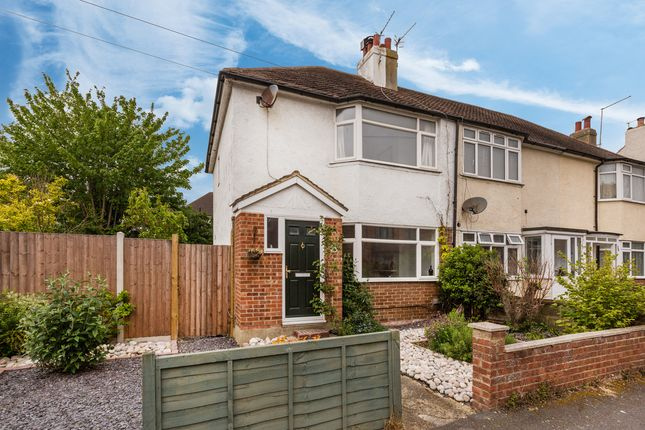 Thumbnail End terrace house for sale in Crown Road, Portslade, Brighton