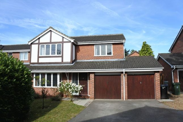 Thumbnail Detached house for sale in Lilacwood Drive, Gonerby Hill Foot, Grantham