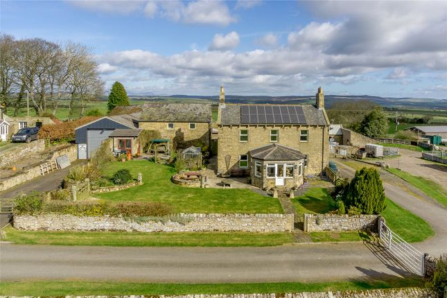 Thumbnail Detached house for sale in Wingates, Morpeth, Northumberland